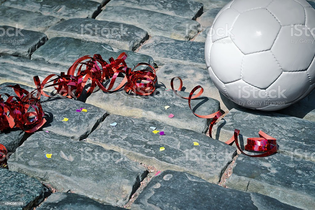 soccer party royalty-free stock photo