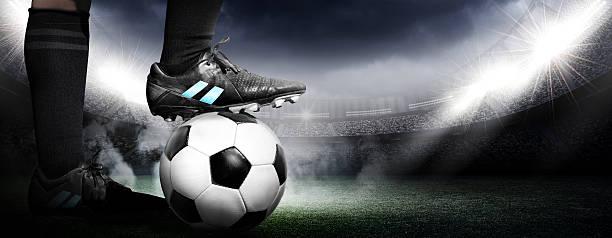 De fútbol - foto de stock