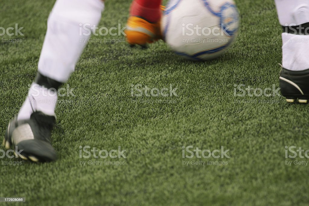 Soccer Play royalty-free stock photo