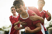 istock A soccer player celebrates a goal. 1178753201