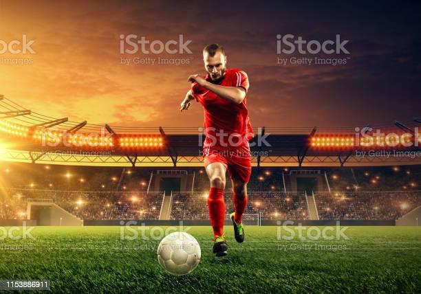 Soccer player in action on professional soccer stadium picture id1153886911?b=1&k=6&m=1153886911&s=612x612&h=iixj9zutsfdiutx  zmh56bppystqpmamrra2jiqdye=
