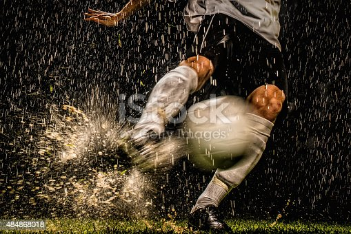 istock Soccer Player in Action 484868018
