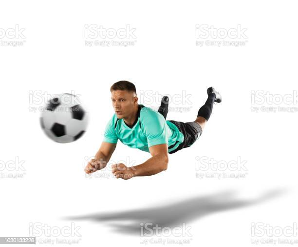 Soccer player jumping for a header the isolated on white picture id1030133226?b=1&k=6&m=1030133226&s=612x612&h=fi9c1ejfllapqfpkcp c5rfvfizk7e rmxmpxwkigcu=