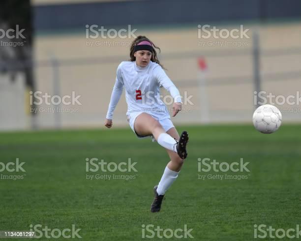 Soccer player kameron showcasing her soccer skills picture id1134081297?b=1&k=6&m=1134081297&s=612x612&h=od8g0wolok tr7 obik8hhmme4nhmi9lpkrfj09njd4=