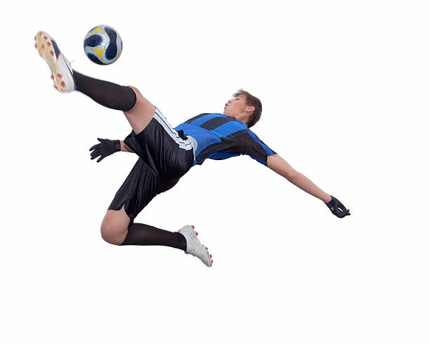 soccer player stock photo
