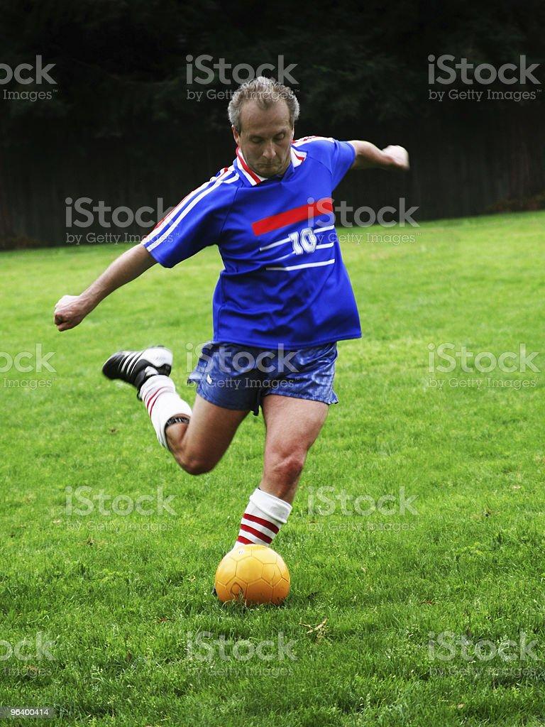 Soccer player - Royalty-free Active Seniors Stock Photo