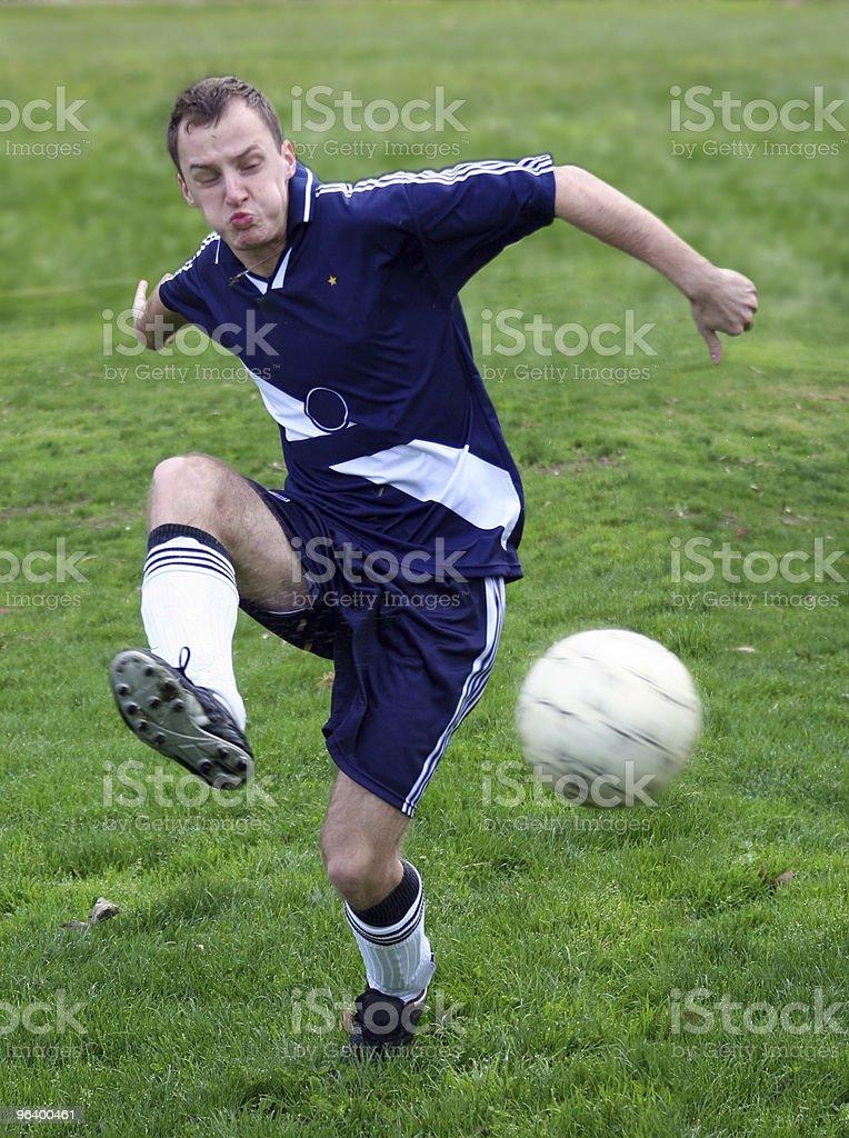 サッカー選手 - 1人のロイヤリティフリーストックフォト