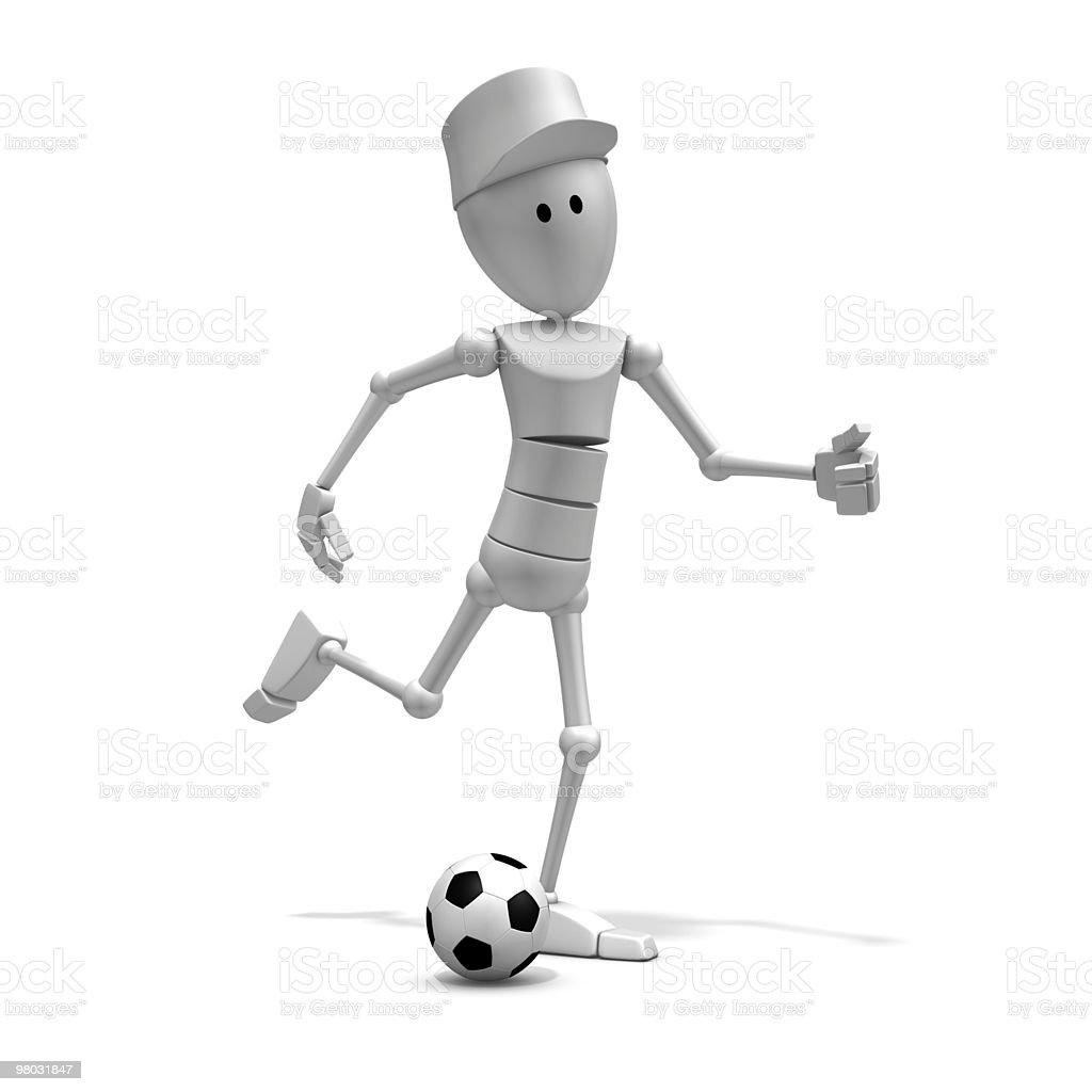 soccer player royalty-free 스톡 사진