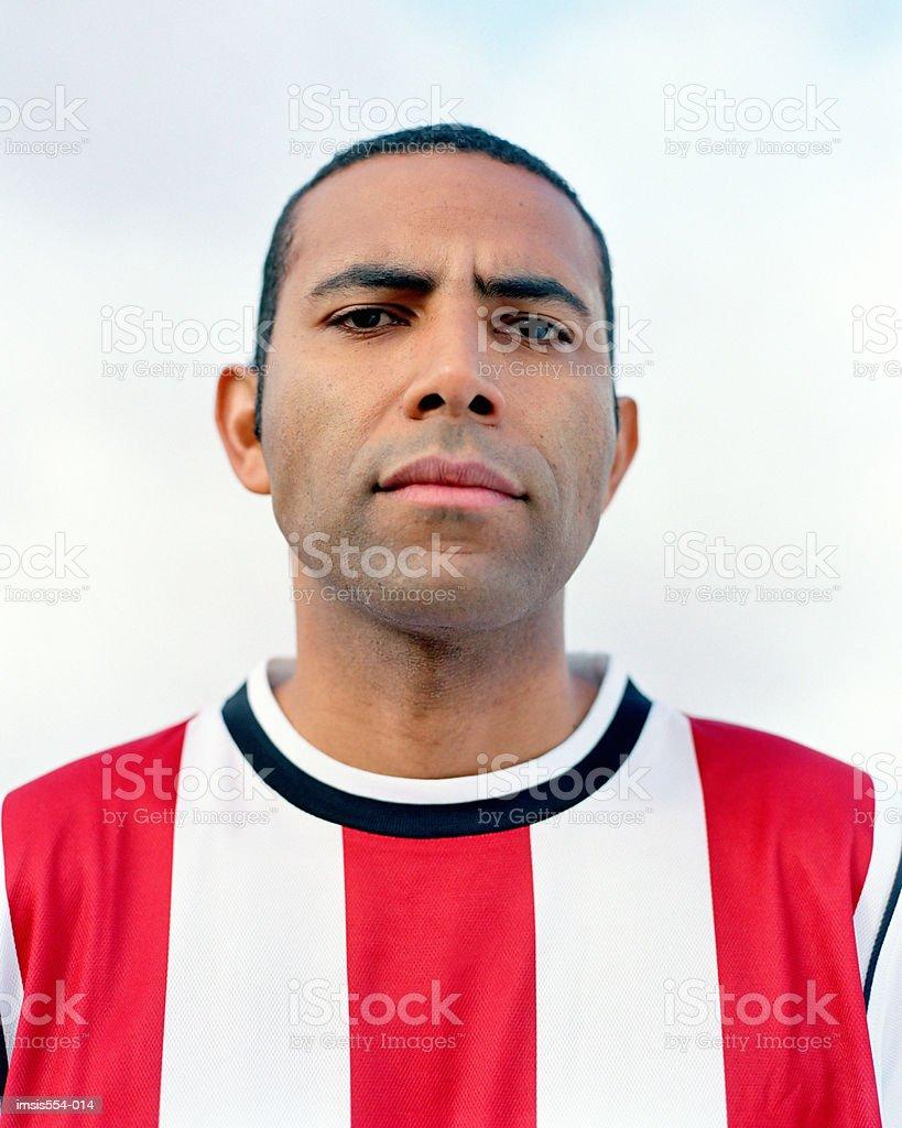 Jogador de futebol foto royalty-free