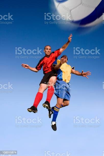 Soccer players fight in the air picture id108315874?b=1&k=6&m=108315874&s=612x612&h=0zi8qd6euisrj6g nq24 ns2ddikiyqkppflwj4ffrs=