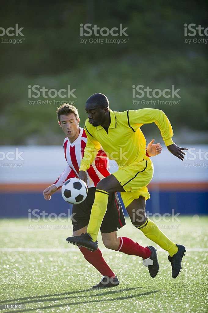 Soccer Players royalty-free stock photo
