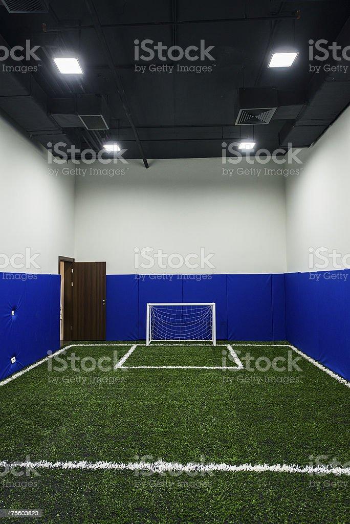 サッカールーム ストックフォト