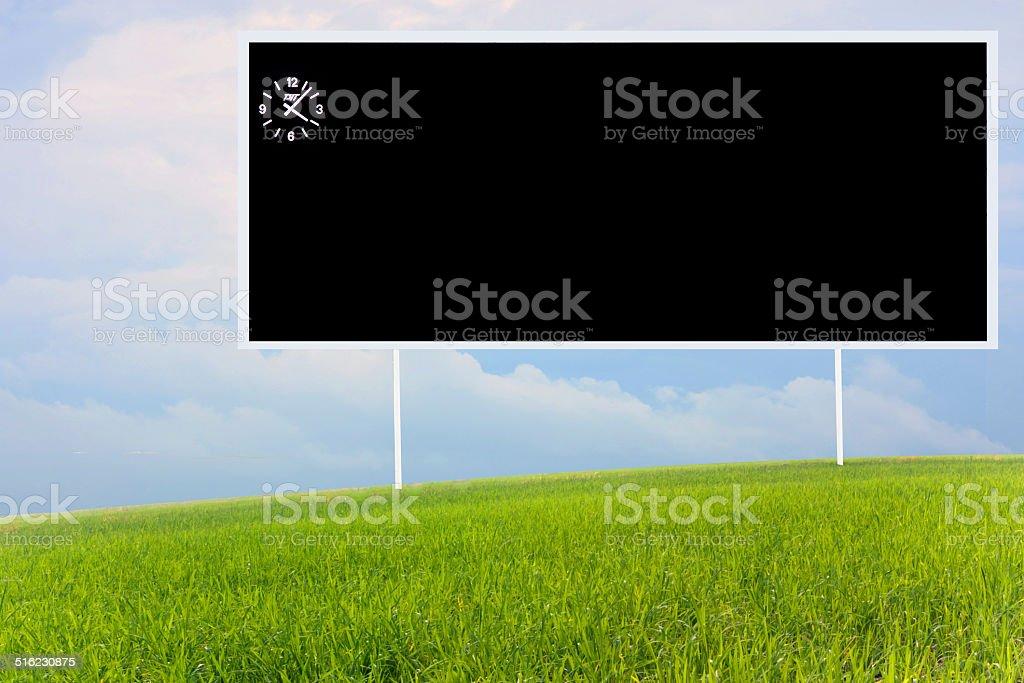 soccer  Scoreboard stock photo