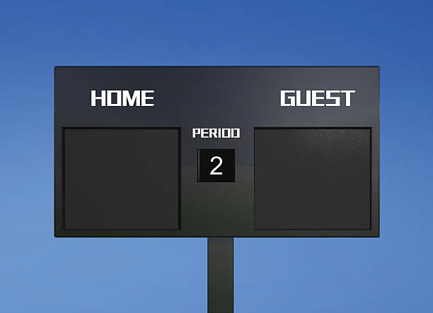 soccer scoreboard score - scoring stock photos and pictures