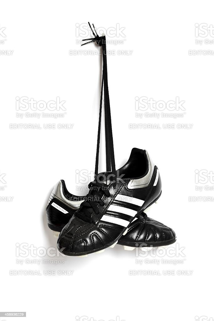 Soccer Shoes. royalty-free stock photo