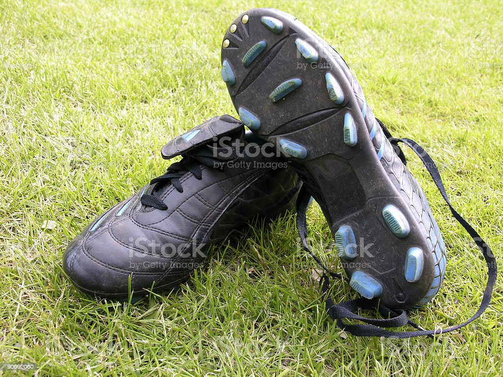 soccer shoes royalty-free stock photo