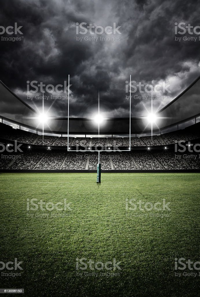 soccer stadium 3d rendering stock photo
