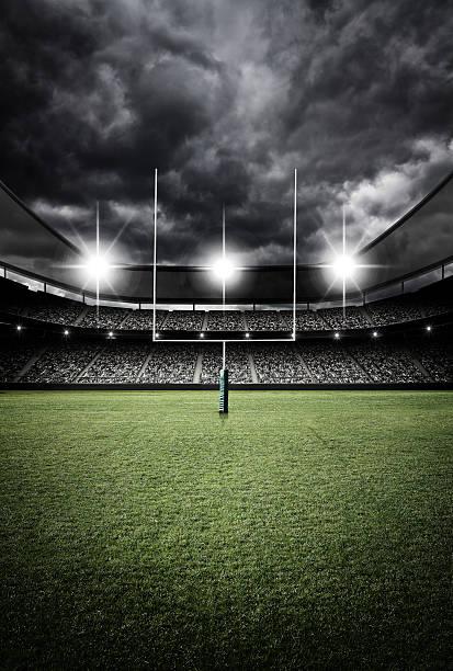 soccer stadium 3d rendering - rugby fotografías e imágenes de stock