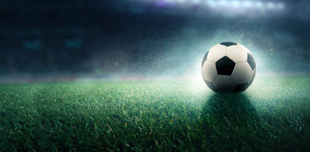 soccer stadium background soccer stadium background soccer field stock pictures, royalty-free photos & images