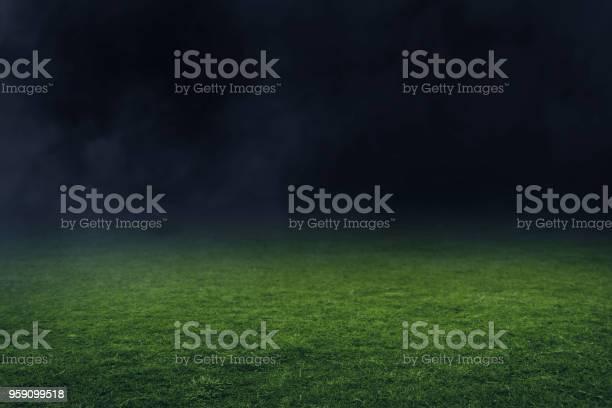 Photo of Soccer stadium field