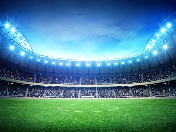Cтоковое фото Футбольный Стадион