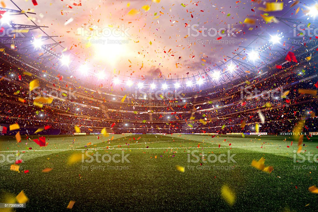 Estadio de fútbol - foto de stock