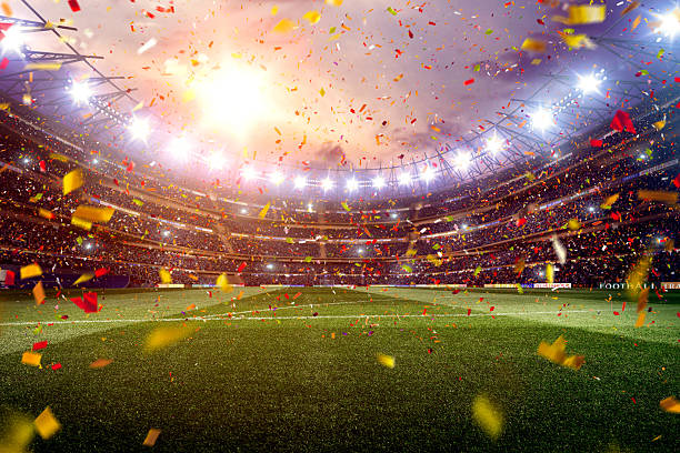 soccer stadium - soccer stock photos and pictures