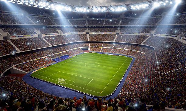 サッカースタジアム - スタジアム ストックフォトと画像