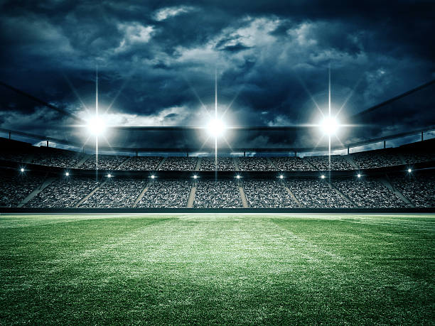 soccer stadium - sports event stock photos and pictures