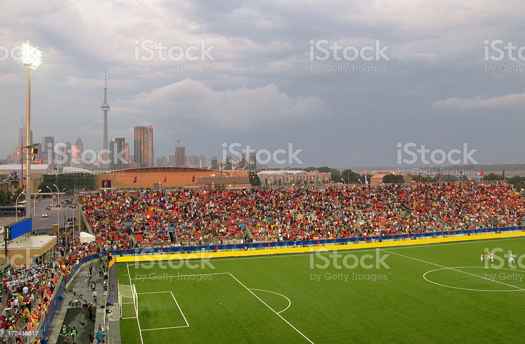 Soccer Stadium, Toronto, Canada stock photo