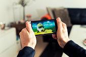Soccer streaming from Brazil on mobile phone