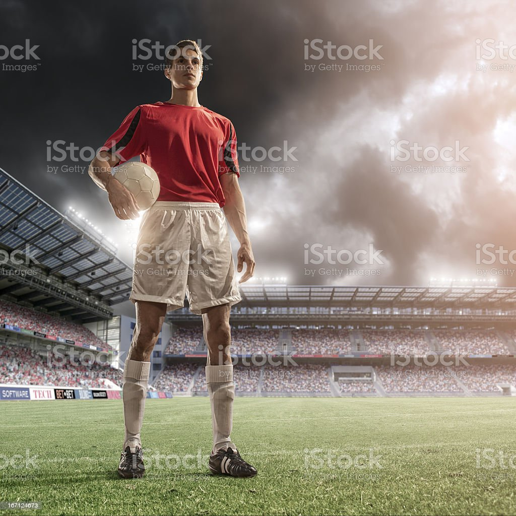 Soccer Superstar royalty-free stock photo
