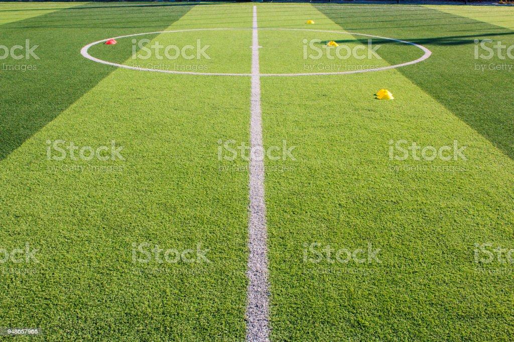 Fussballtraining Ausrustung Auf Kunstrasen Soccer Academy