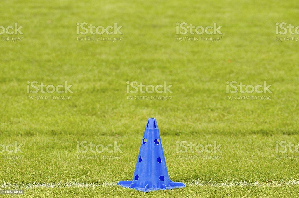 Soccer Training Equipment stock photo