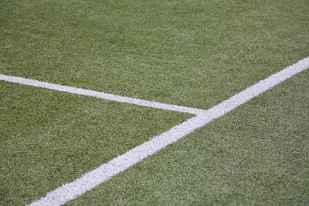 Soccerfield stock photo