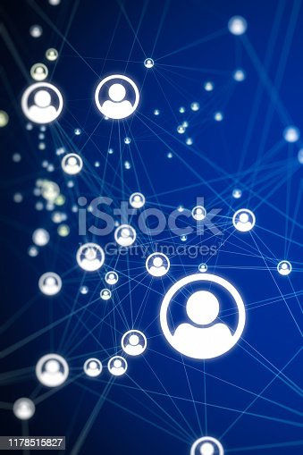 istock Social connection Backgrounds 1178515827