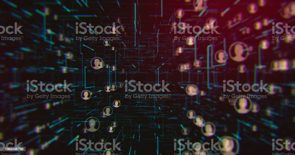 Social Connection Network Backgrounds