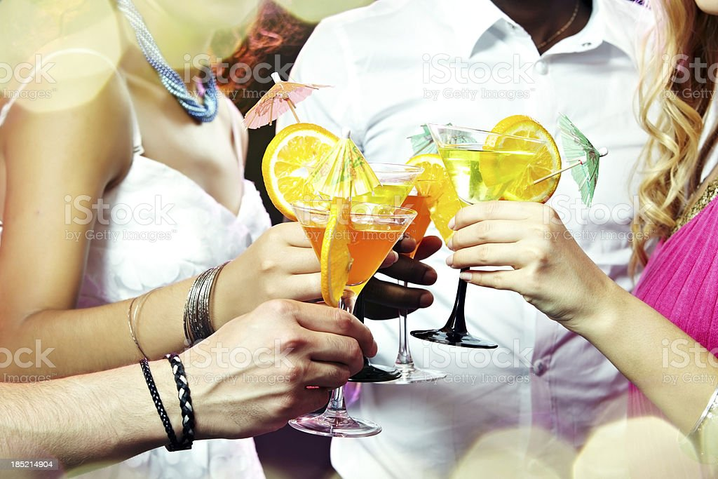 Social gathering royalty-free stock photo