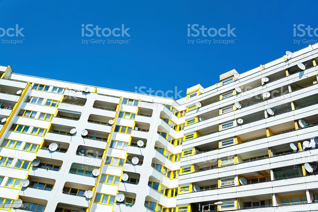 Social House Building in Berlin stock photo
