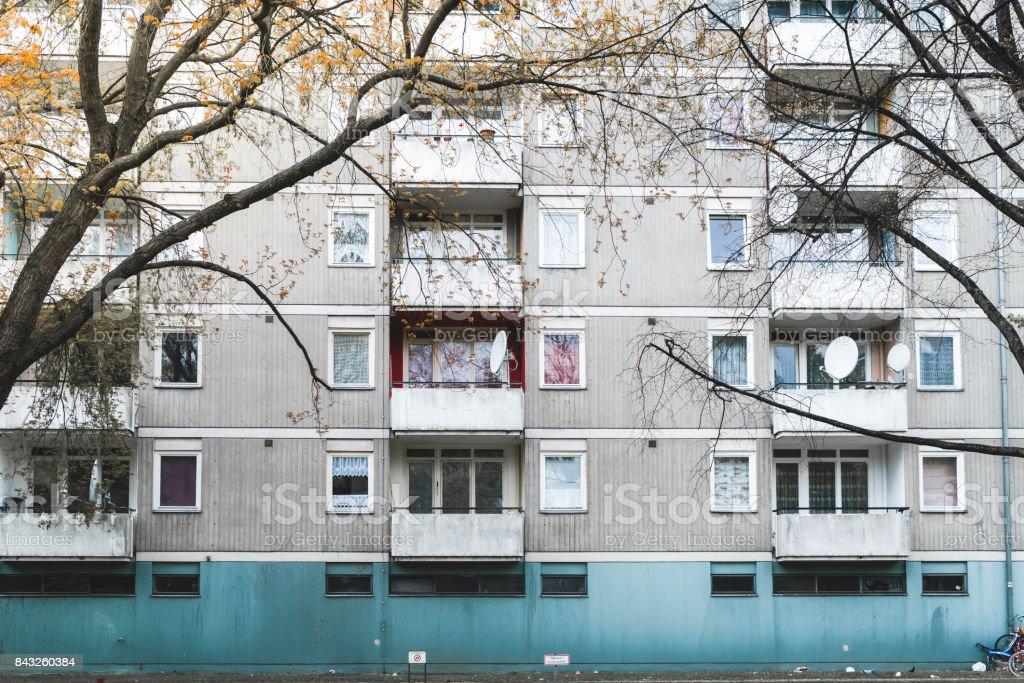 sozialer Wohnungsbau in Berlin-Kreuzberg – Foto