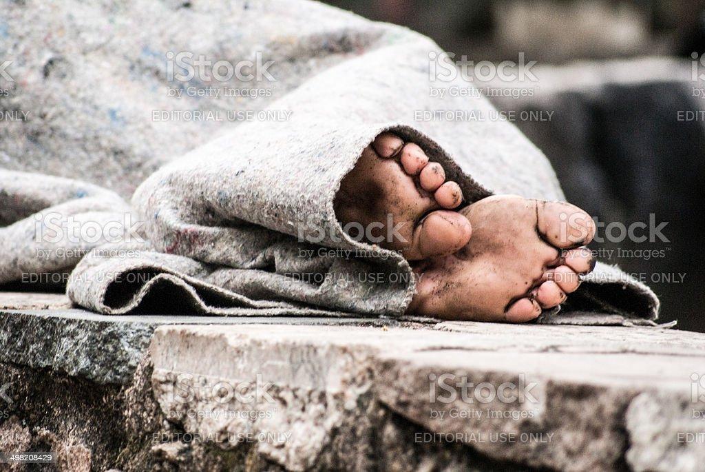 social inequity in rio de janeiro stock photo