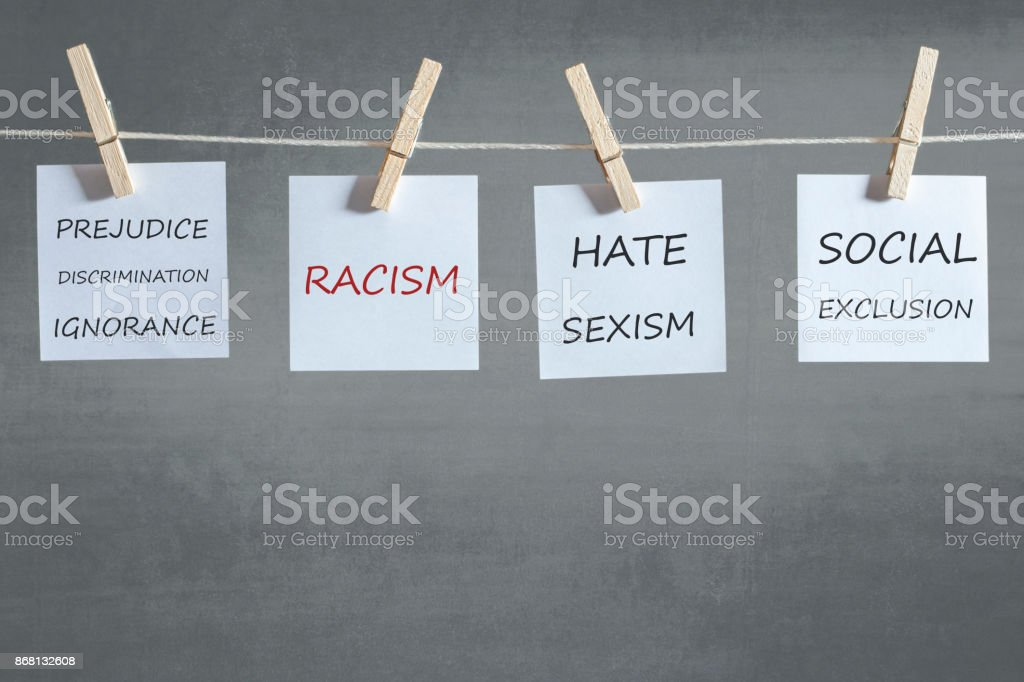 Social issues concept stock photo