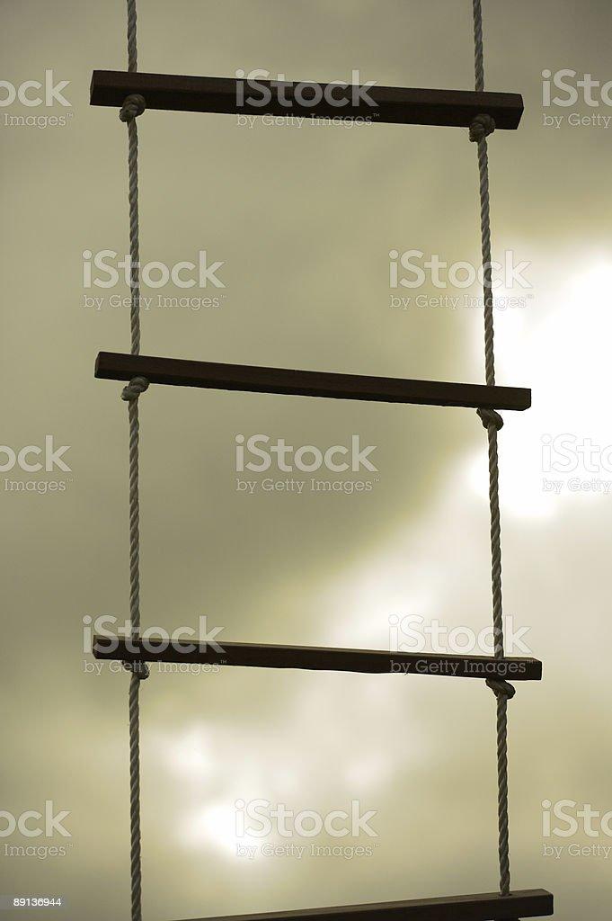 social ladder royalty-free stock photo
