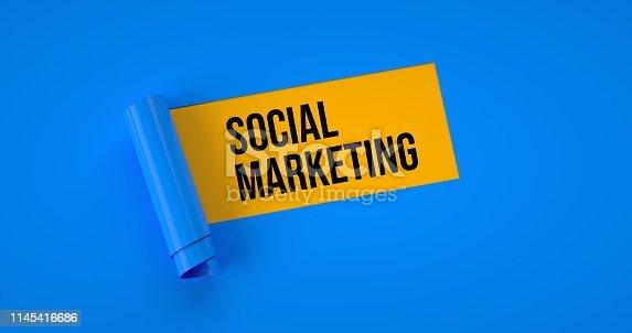 istock Social Marketing 1145416686