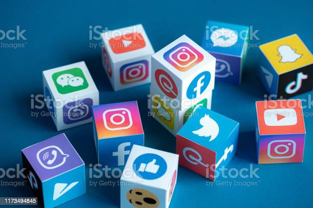 Social media apps logotypes printed on a cubes picture id1173494845?b=1&k=6&m=1173494845&s=612x612&h=gfqqr9xrxhr a8d3apyxalgznljqvy17edcfizbx mk=