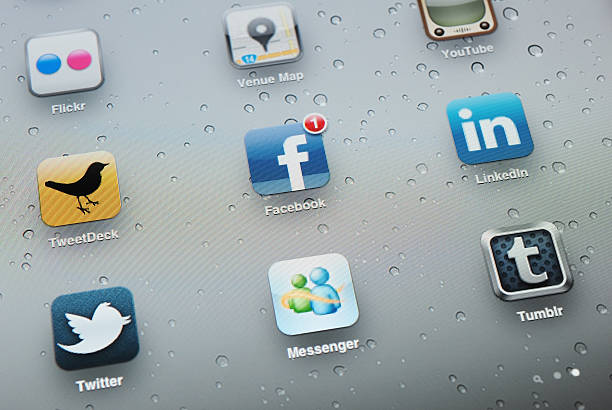 social media apps on apple ipad 2 - twitter 個照片及圖片檔