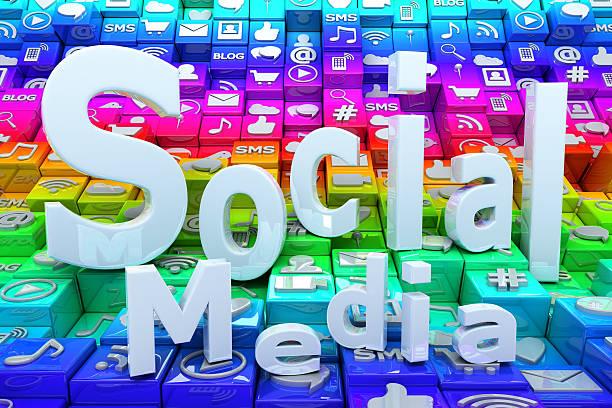 Fond de médias sociaux - Photo