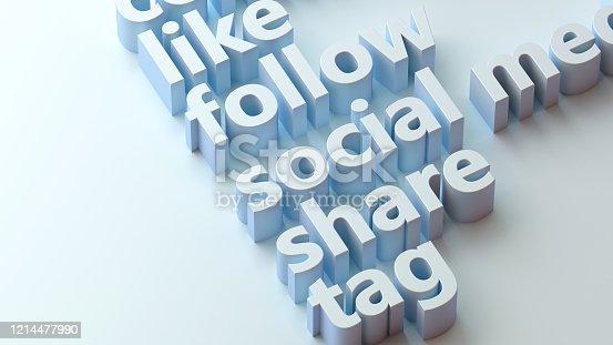 1146949110istockphoto Social Media Background, Social Media Concept 1214477990