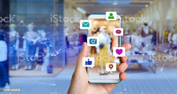 Koncepcja Mediów Społecznościowych - zdjęcia stockowe i więcej obrazów Aplikacja mobilna