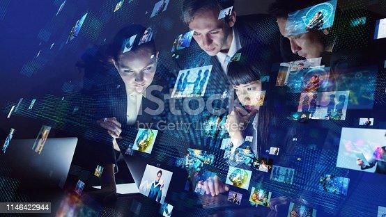 913588258 istock photo Social media concept. 1146422944